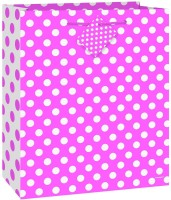 Fusion Balloons Party Printed Party Bag (Pink, Pack Of 1)