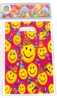 Funcart Smiley Theme Party Lootbag Printed Party Bag (Multicolor, Pack Of 6)