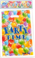 Funcart Party Time Lootbag Printed Party Bag (Multicolor, Pack Of 6)
