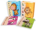 Pinnacle Animals L Printed Party Bag - Multicolor, Pack Of 4