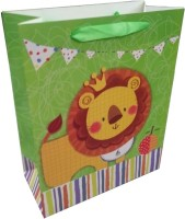 ShopAParty Prince Of The Jungle Printed Party Bag (Multicolor, Pack Of 1)