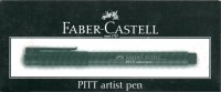 Faber-Castell PITT Artist Pen Marker Ink (Pack Of 10, Black)