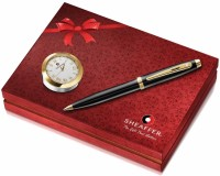 Sheaffer 100 Pen Gift Set (Pack Of 2, Black)