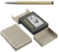 Parker Vector Gold BP With Photo Frame Pen Gift Set (Blue)
