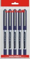 Uniball Eye Roller Ball Pen (Pack Of 5, Blue)
