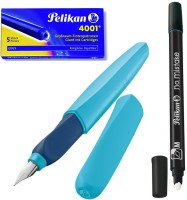 Pelikan Twist Fresh Ocean Pen Gift Set (Pack Of 3, Blue)