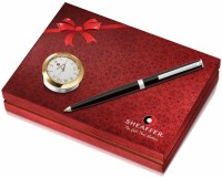 Sheaffer Sagaris Ball Pen Gift Set (Pack Of 2, Blue, Black)