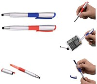 RIF Stylus With Pen And Highlighter (Set Of 2 Pcs ) Ball Pen (Pack Of 2, Blue)
