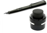 Lamy Safari Combo (Fine Nib) Fountain Pen (Pack Of 2, Black)