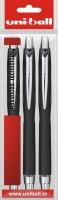 Uniball Jet Roller Ball Pen (Pack Of 3, Black)