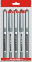 Uniball Eye 5 Roller Ball Pen (Pack Of 5, Black)