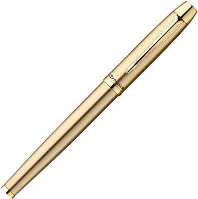 Buy Parker IM Gold Brushed Metal GT Roller Ball Pen: Pen