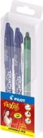 Pilot Emotion Roller Ball Pen (Pack Of 3, Blue)