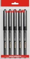 Uniball Eye 3 Roller Ball Pen (Pack Of 5, Black)
