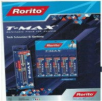 RORITO T MAX BLUE PEN PACK OF 10 PCS Gel Pen (Pack Of 10, BLUE)