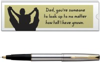 Parker Frontier BP With Dad Quote -6 Pen Gift Set (Blue)