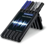Staedtler Triplus Ballpen Pen Gift Set (Pack Of 6, Blue, Black)