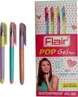 Flair 50 Gel Pen (Pack Of 50, Black)