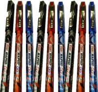 Flair Rapid Gel Pen Gift Set (Pack Of 9, Blue, Black, Red)