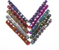 Smile2u Retailers Rajasthani Art Worked Roller Ball Pen (Pack Of 10, Blue)