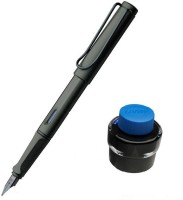 Lamy Safari Combo (Fine Nib) Fountain Pen (Pack Of 2, Blue)