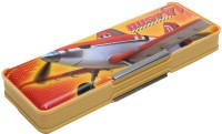 Disney Planes Cartoon Art Magnetic Pencil Box (Set Of 1, Yellow, Orange)