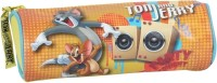 Tom&Jerry School Satin Pencil Boxes (Set Of 1, Yellow)