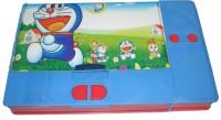 HINA Doraemon Character Art Plastic Pencil Box (Set Of 1, Blue)