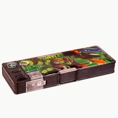 Nickelodeon Geometry & Pencil Boxes Nickelodeon Ninja Turtles Plastic Pencil Box