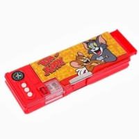 Warner Bros. Tom and Jerry Tom and Jerry Art Pencil Box Red||Yellow