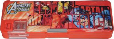 Marvel Geometry & Pencil Boxes Marvel Avenger Superhero Art Plastic Pencil Box