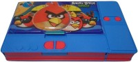 Gift Chachu Jumbo Angry Birds Art Plastic Pencil Box (Set Of 1, Multi Colour)