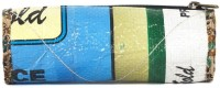 Green The Gap Rice Pack Art Cloth Pencil Boxes (Set Of 1, Multicolour)
