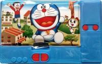 Shree Krishna Handicrafts And Gallery JUMBO Doraemon Art Plastic Pencil Box (Set Of 1, Blue)