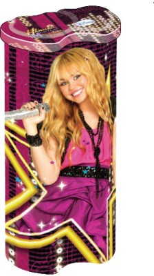 Buy Disney Hannah Montana Graphics Art Metal Pencil Box: Pencil Box