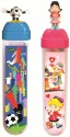 Buddyz Football Man & Baby Girl PP Pencil Boxes - Blue, Pink