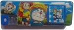 Gift Chachu Geometry & Pencil Boxes Gift Chachu Calculator Doraemon Art Plastic Pencil Box