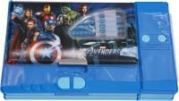 Priyankish Smart Kidz Avengers Art Plastic Pencil Box (Set Of 1, Multicolor)