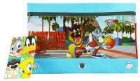 Warner Bros. Looney Tunes Plastic Pencil Box (Set Of 1, Multicolor)