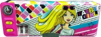 Mattel Character Face Art Metal Pencil Box (Set Of 1, Red)