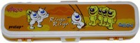 Nanson X6 Na Art Plastic Pencil Box (Set Of 1, Multicolor)