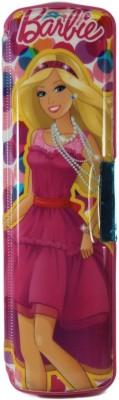 HM International Geometry & Pencil Boxes HM International Barbie Barbie Art Plastic Pencil Box