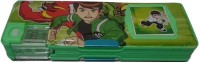 Gift Chachu Calculator NA Art Plastic Pencil Box (Set Of 1, Green)