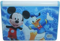 Shree Krishna Handicrafts And Gallery Mickey Bookshelf With Marker N Board. Art Plastic Pencil Box (Set Of 1, Blue)
