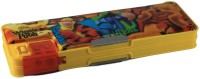 HM International Winnie The Pooh Disney Art Plastic Pencil Box (Set Of 1, Yellow)