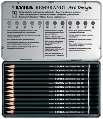 Buy Lyra Rembrandt Art Design Pencils: Pencil
