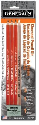 Buy General's 557BP Charcoal Pencil Kit: Pencil