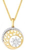 Nakshatra Love Forever 18K Yellow Gold Plated 18K Diamond Yellow Gold Pendant
