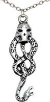 ExBozo Silver Harry Potter Voldemort Dark Mark Nagini Basilisk Snake Pendant Alloy Pendant