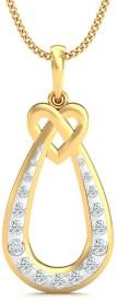 Stylori Charmia 18kt Diamond Yellow Gold Pendant